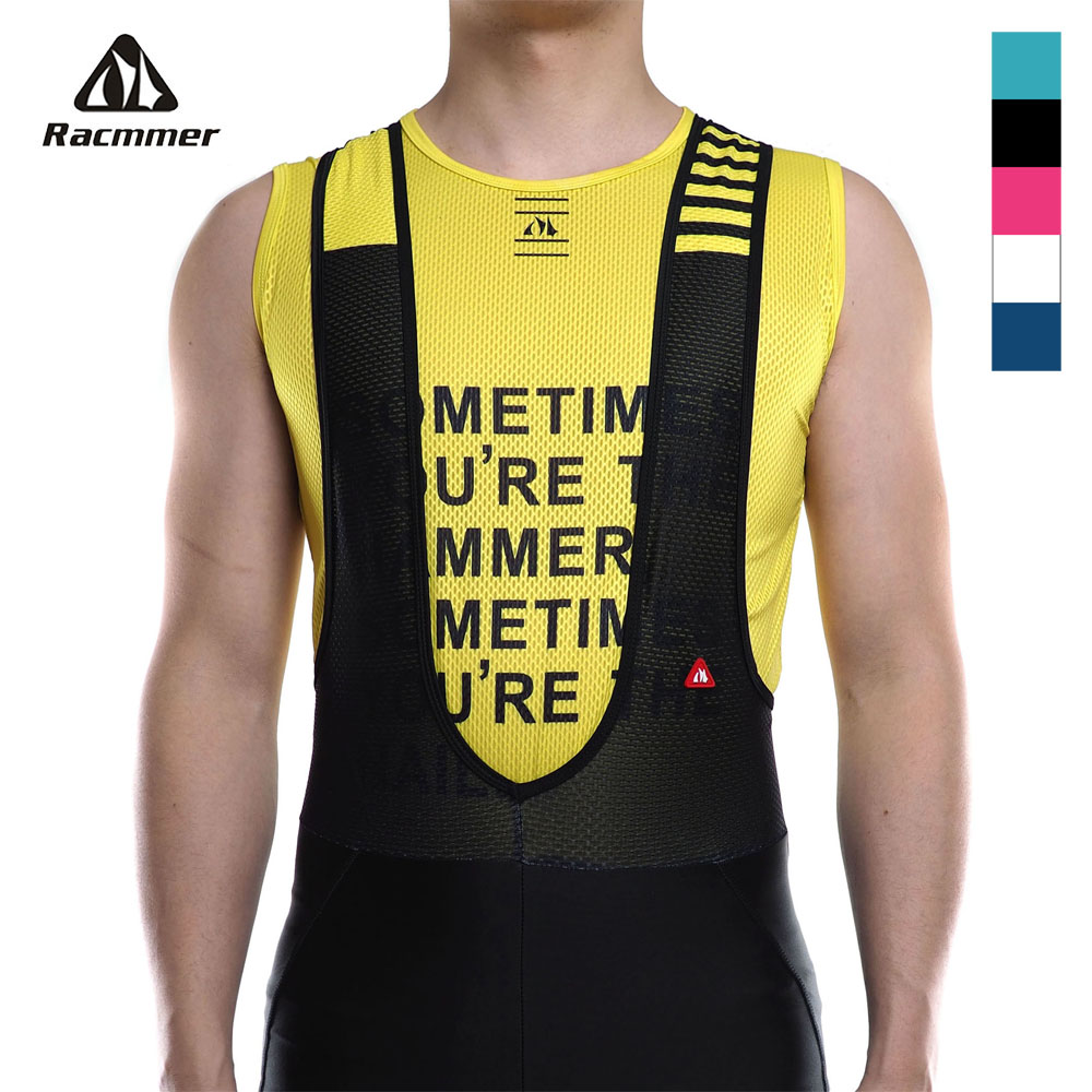 Racmmer Pro 2020 Bike Cool Mesh Superlight Underwear Vest Base Layers Bicycle Sleeveless Shirt Highly Breathbale Cycling Jersey|Cycling Base Layers| |  - title=