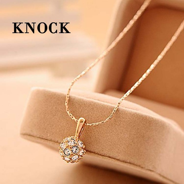 Collares mujer classic jewelry sterling jewelry crystal pendant collares mujer classic jewelry sterling jewelry crystal pendant transfer bead necklace small necklaces pendants gift aloadofball Image collections
