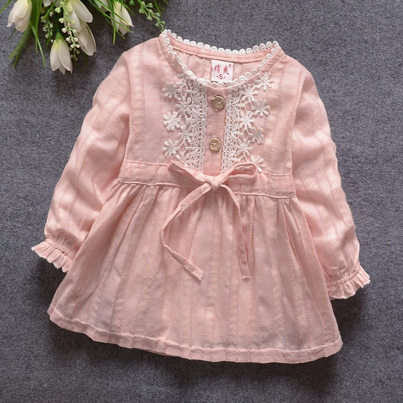 Newborn girls suit autumn and winter newborn baby baby clothing baby girl dress princess party christmas dress ballet dress