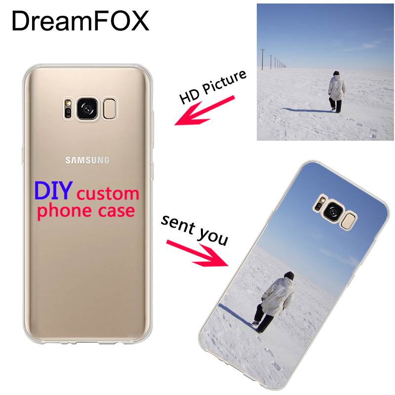 dreamfox custom diy print photo soft tpu phone case for samsung galaxy note 3 4 5 8 s5 s6 s7 s8. Black Bedroom Furniture Sets. Home Design Ideas