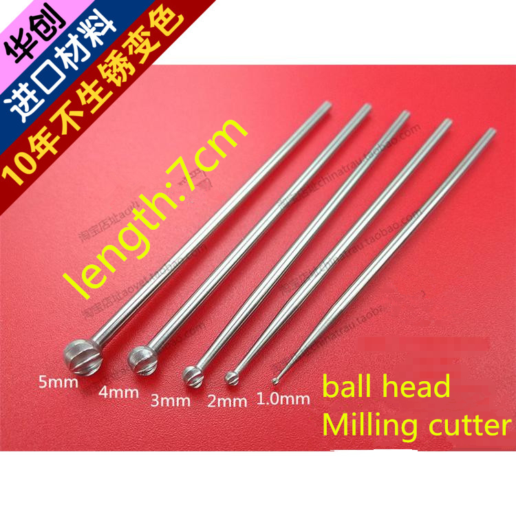 medical VET Small animal orthopedic instrument ball head Milling cutter Spine polishing stick Joint grinding ball Pen bone drill medical orthopedic instrument set pet veterinary 1 40kg dog cat small animal all instrument vet implant bone plate screw install