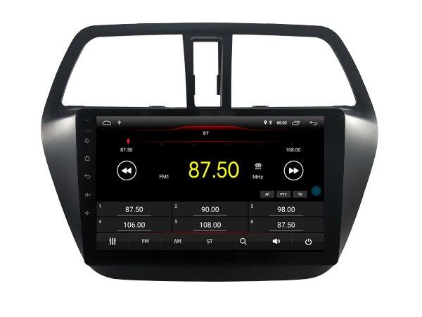 Elanmey haut équipé 8 cœurs + 4 go de ram + 64G rom android 8.1 autoradio pour Suzuki sx4 s-cross DSP Gps navigation multimédia headunit - 3
