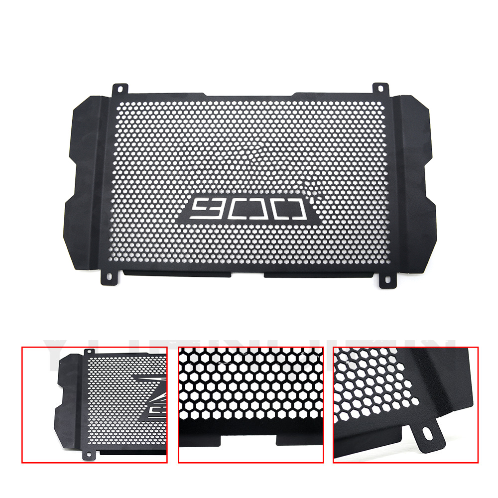 Motorcycle Accessories Black Radiator Grill for <font><b>kawasaki</b></font> <font><b>Z</b></font> <font><b>900</b></font> <font><b>2017</b></font> 2018 Radiator Protection moto motocycle Parts image