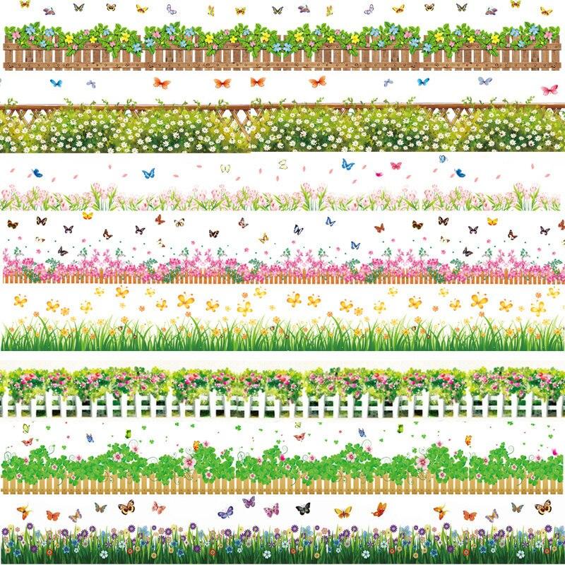 λουλούδι γρασίδι κήπος φυτά baseboard - Διακόσμηση σπιτιού - Φωτογραφία 1