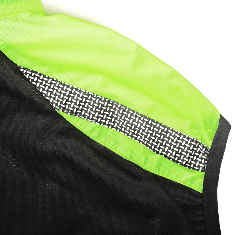 NUCKILY Reflective Cycle Vest Quick Dry Sleeveless Cycling Jersey Water  Resistant Bike Vest Sport Apparel V100-in Cycling Vest from Sports    Entertainment ... f1760d1d1