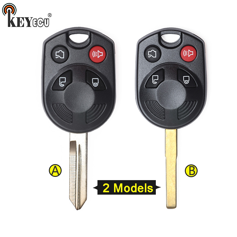 1X KEY BLANK FIT FOR MAZDA TRIBUTE FORD ESCAPE FOCUS BLACK
