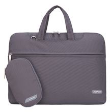 14 inch Laptop computer Bag Pocket book Shoulder Messenger Bag Males Girls Purse Sleeve for Case (Grey)