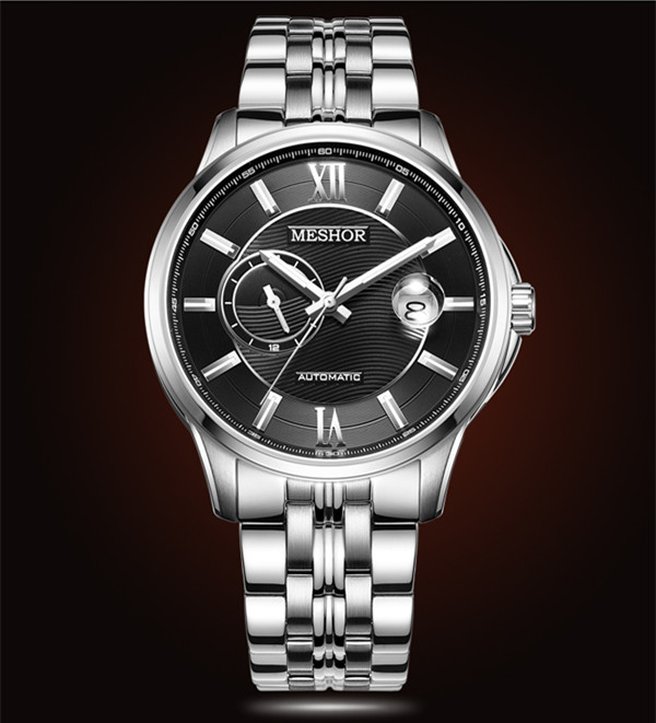 (MESHOR) automatic mechanical Ms watch sapphire glass MS.9040M.16.216