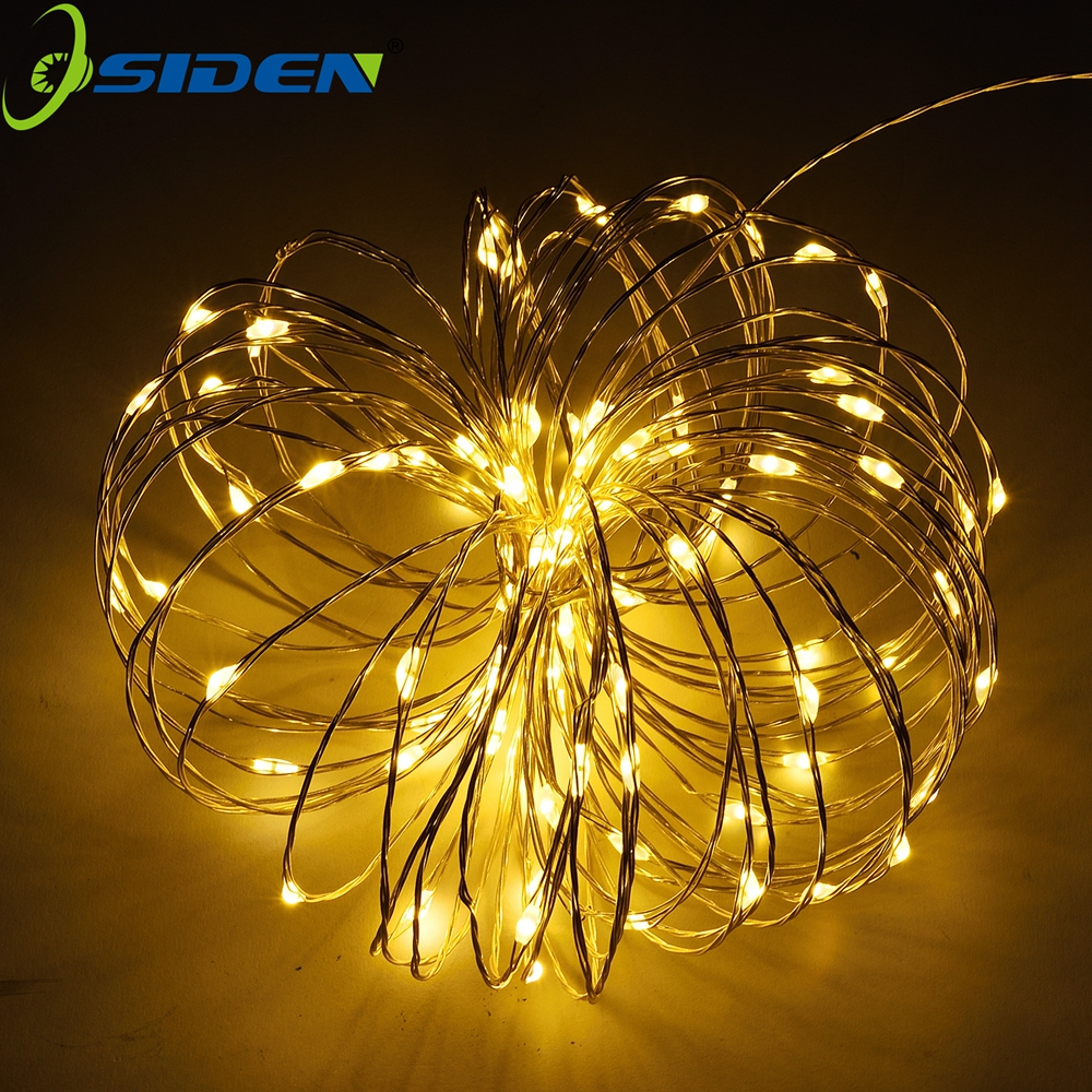 OSIDEN Batteri String Light 2m 20 LED Starry String Light Christmas Waterproof Copper Light Perfekt för utomhusinredning inomhus