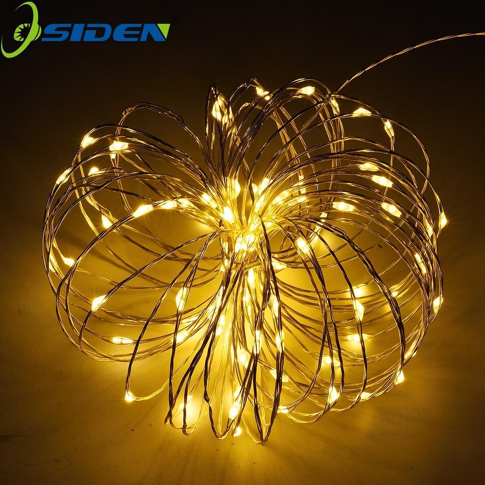 OSIDEN Battery String Light 2m 20 LED Starry String Light Christmas Waterproof Copper Light Perfect For Outdoor  Indoor Decor