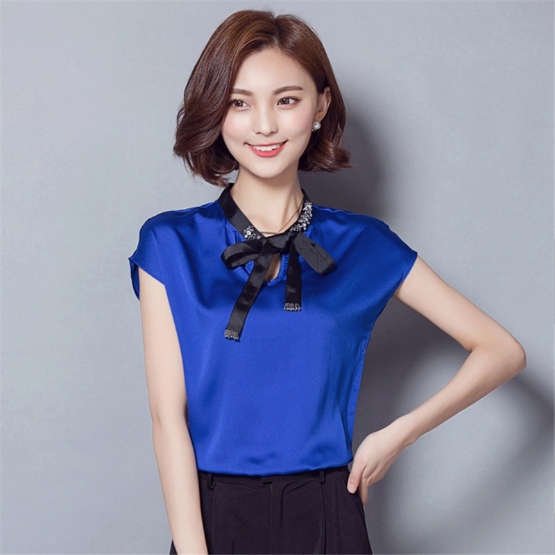 white Women green Plus Bow Candy Nice A528 Summer Solid Diamond Loose Blue Batwing Top Slim Color Casual Size T orange Tshirt Sleeve Shirt Korean AqvgSvwXx