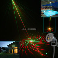 R G Outdoor Waterproof Laser 12 Big Patterns Projector Holiday Party Landscape Disco Party Tree Garden