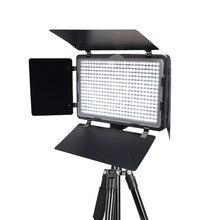Mcoplus LED 410A דק במיוחד סטודיו צילום וידאו אור LED עבור Canon Nikon Pentax Panasonic סוני סמסונג אולימפוס DSLR מצלמה