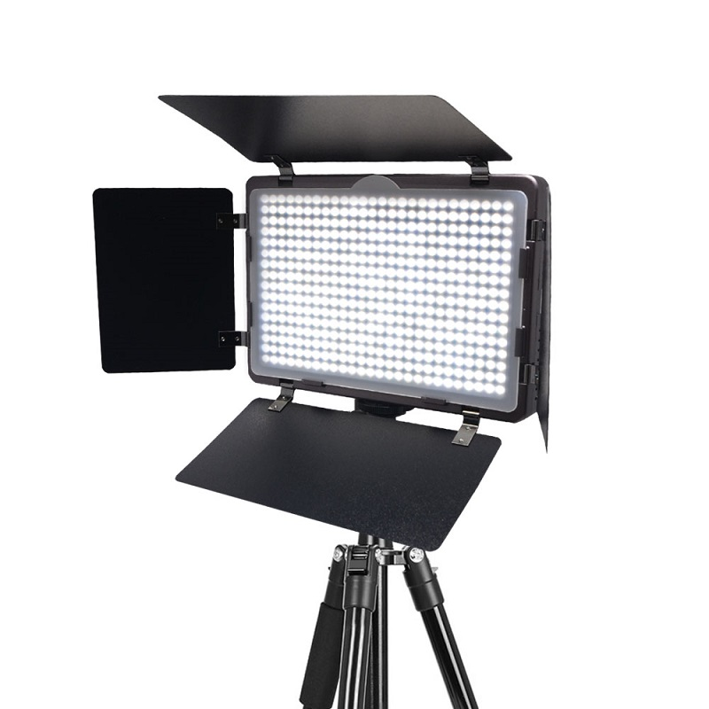 Mcoplus LED-410A Ultra-thin Studio Photography Video LED Light for Canon Nikon Pentax Panasonic Sony Samsung Olympus DSLR Camera