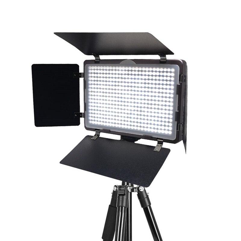 Mcoplus LED-410A lumière LED vidéo de photographie Studio Ultra-mince pour Canon Nikon Pentax Panasonic Sony Samsung Olympus appareil photo reflex numérique