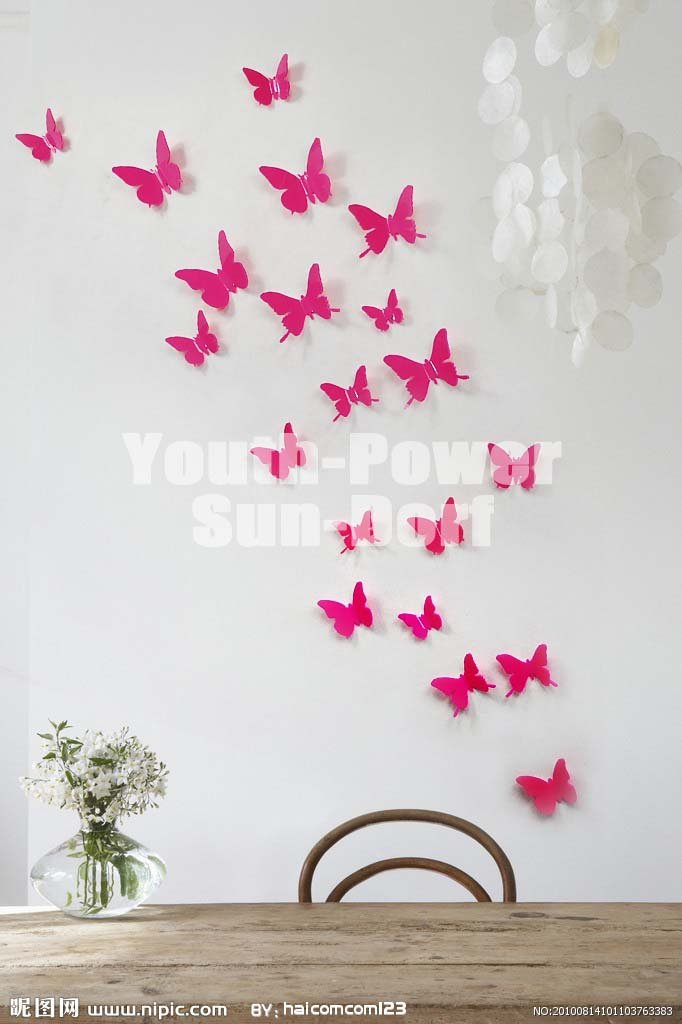 Funky Wall Decoration With Erfly Image Collection Art