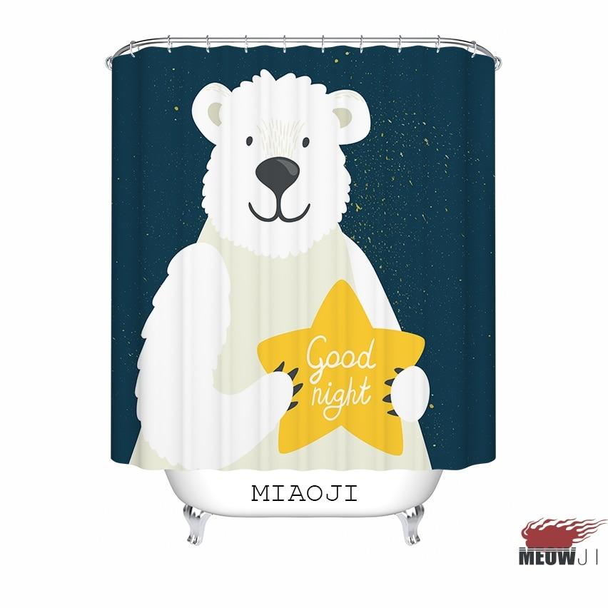 [MIAOJI]  Good Night Starry Sky In Blue custom Shower Curtain - Household Merchandises - Photo 2