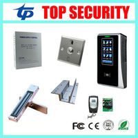 Biometric proximity card smart 125KHZ RFID card time attendance and access control system free software door lock access control