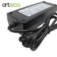 AC100-240V do DC 12 V 10A zasilacz do taśmy led LCD CCTV US/EU/AU/UK wtyczka DC12V Oświetlenie transformer