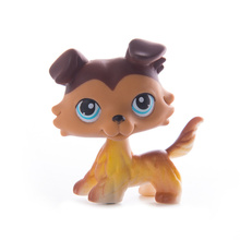 цена LPS Pet Shop Toys Dolls Cat Collie Dog Collection Stand Action Figures High Quality littlest Model Toys Gifts Cosplay Toys онлайн в 2017 году