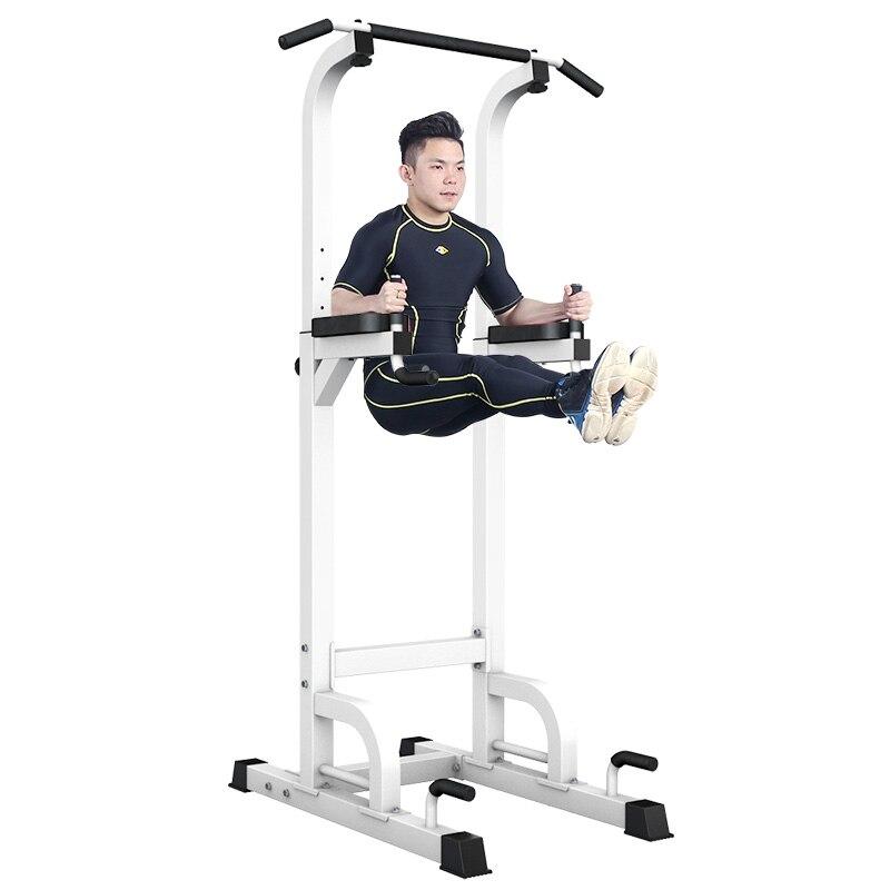 Barre de traction intérieure support 7 réglable en hauteur simple Double barre multifonction sport équipement de Fitness exercice à domicile 300 kg portant