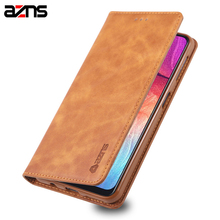 For Samsung Galaxy M10 Case Flip PU Leather Stand Soft TPU Silicone Cover Book Style Phone Shell Back