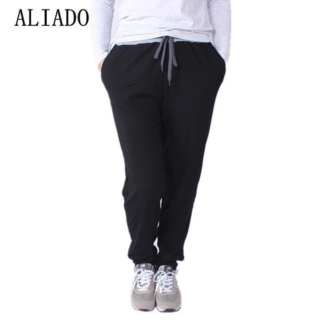 Primavera Outono Hot sale Plus Size 3XL 5XL Cinza Preto Sólido Elástico Fino-Cintura Das Mulheres Calças Lápis