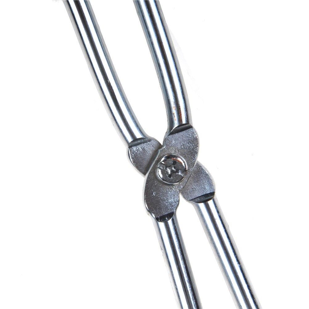 20 Cm Chemie Tiegel Zange Schmelzen Gericht Halter Edelstahl Zange Labor Schmelzen Metall Werkzeug Für Chemische Instrument Labor Liefern Länge