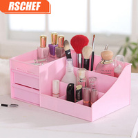 OUSSIRRO Handmade Storage Box For Jewelry Makeup Organizer For Cosmetic Assemble DIY Container Box Case For
