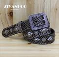 spanish rivet series of men belts  Scales hip-hop style mens punk jeans belts luxury  tactical high quality designer belts Z050
