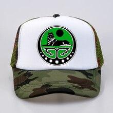 Chechen Republic Chechen Republic of Ichkeria Print Men Women  Baseball caps Chechen Wolf Second Ch Summer mesh trucker hat