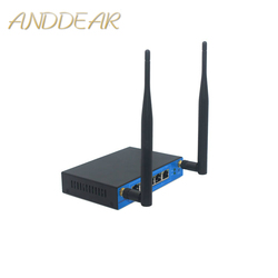 Wysokiej prędkości 27dBm300M przemysłowe  aby zamówić ofertę na szynę DIN 4g 9341 ltewireless router obsługuje openwrt ODM/OEM szeregowy RS/485 przemysłowe sterowania WIFI