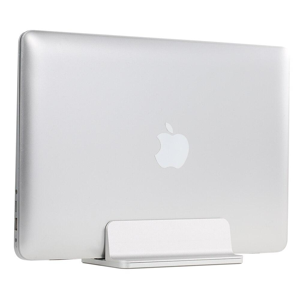 Adjustable Vertical Laptop Stand Aluminum Alloy Holder Bracket Cooler Cooling Pad for MacBook Pro/Air/iPad/Phone/Notebook/Tablet