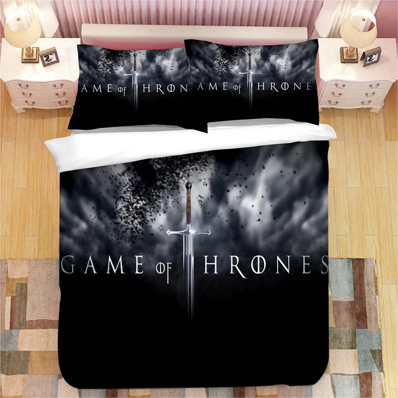 Game of Thrones 3D bedding set Duvet Covers Pillowcases A Song of Ice and Fire comforter