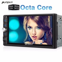 2017 Pumpkin 7 Inch Two Din Android 6 0 Car DVD Player Qcta Core Radio With