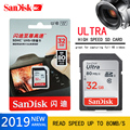Sandisk Ultra карта памяти хит моды sd-карта 16 ГБ 32 ГБ 64 Гб 128 Гб класс 10 SDHC/SDXC 80 МБ/с./с высокоскоростная карта памяти для камеры