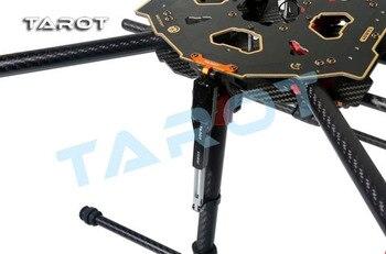 Cuadro Quadcopter De Fibra De Carbono | Kit De Marco De TAROT 650 Iron Man Sport Cuadricóptero Con Patas De Deslizamiento Retráctiles TL65S01