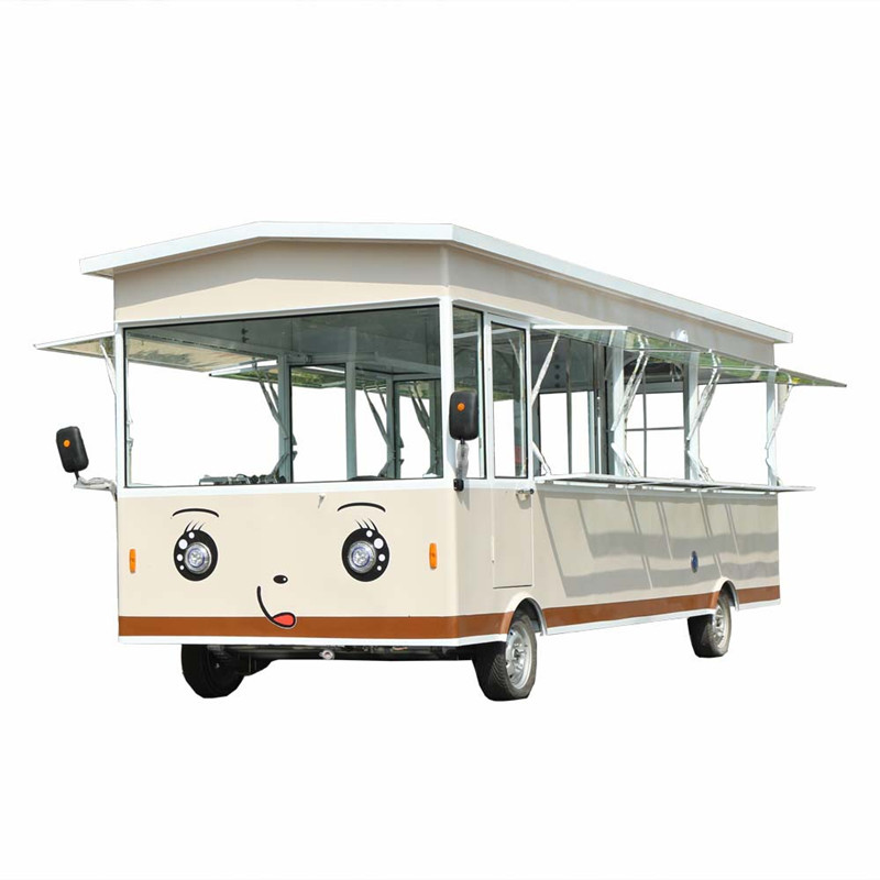 2019 China New Motorcycle Food Cart And Small Electric Food Bus Food Van For Sale