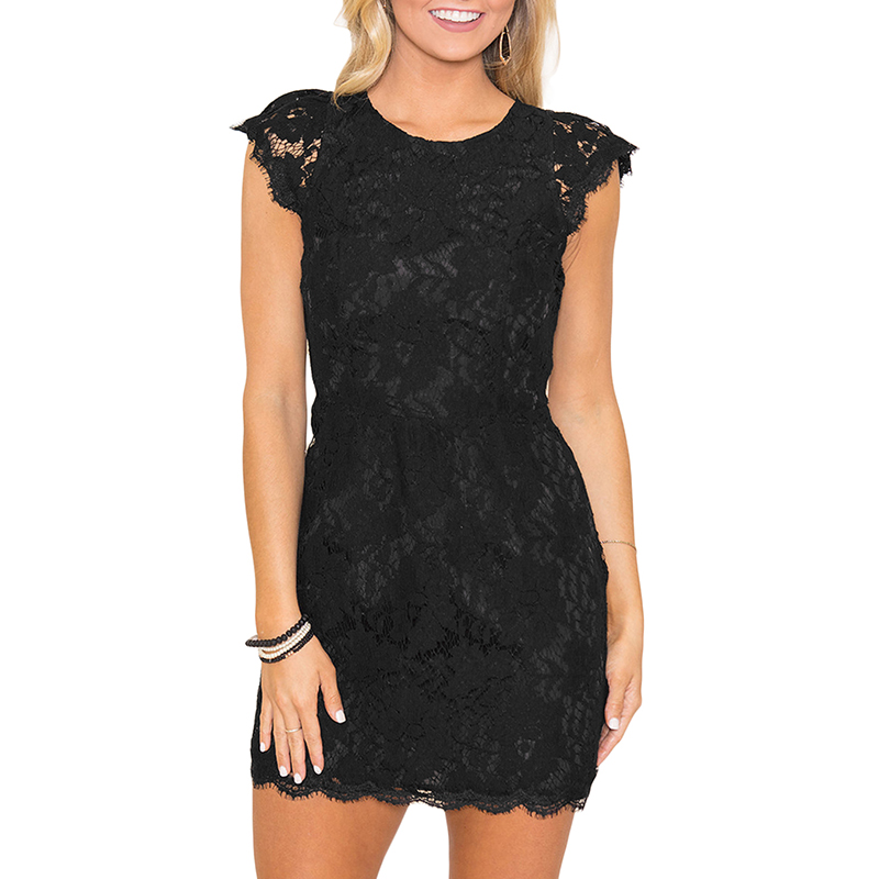 dress women sumer lace (4)