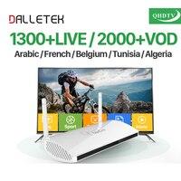 EU US UK AU Arabic IPTV Box Leadcool Smart Android TV Box 1 Year QHDTV IPTV