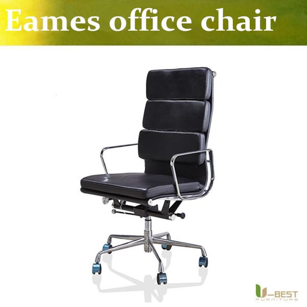 Emes U-BEST Alumínio Cadeira De Gestão Do Grupo designer cadeiras executivas, emes estilo real de couro de alta volta Cadeiras De Mesa
