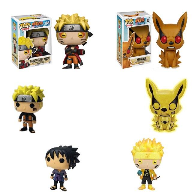 US $12 07 5% OFF|Funko POP Action Figure Naruto (Sage Mode) (Six Path)  Naruto Kurama Mode Kurama Sasuke PVC Model Hot Movie Collectible Doll  Toys-in