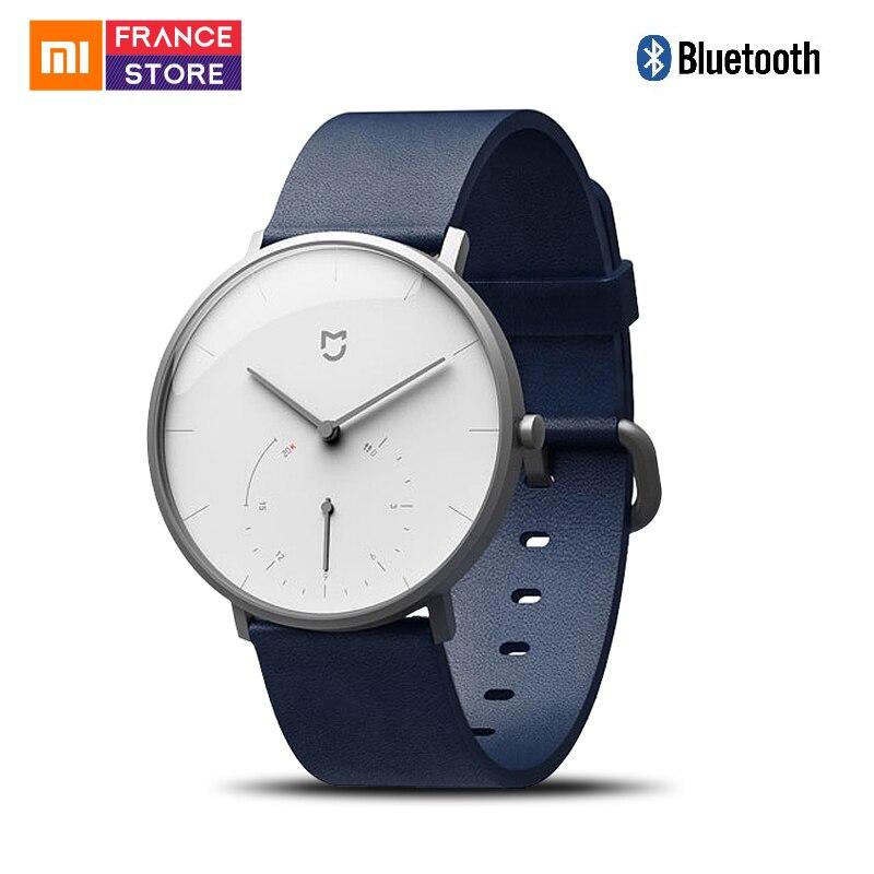 Xiao mi mi jia montre à Quartz intelligente montres intelligentes mi bande podomètre étanche Bluetooth calibrage automatique mode pour hommes femmes