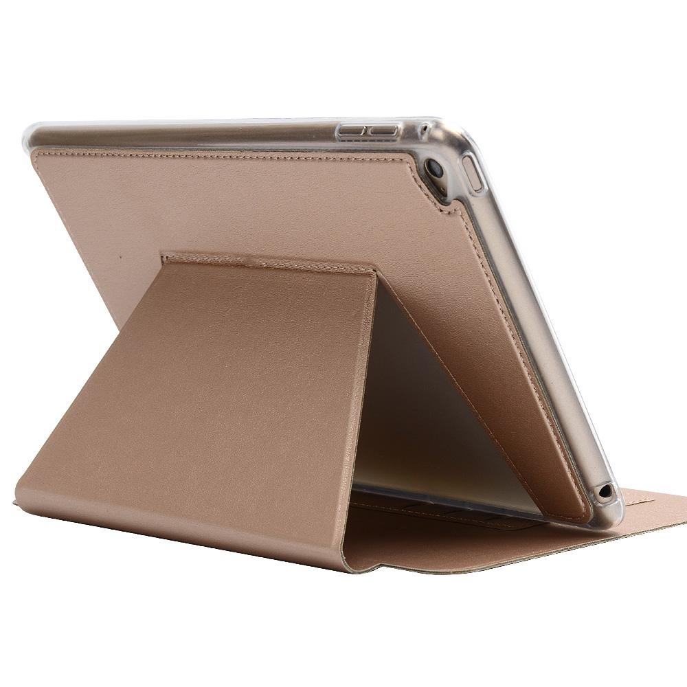 High Quality Super Thin Slim Soft Silicone TPU Stand PU Leather Cover Protective Case For Apple iPad Mini 4 Mini4 7.9inch Tablet floveme 7 9 mini4 transparant slim thin cover for apple ipad mini 4 case soft silicone gel crystal clear back funda cases