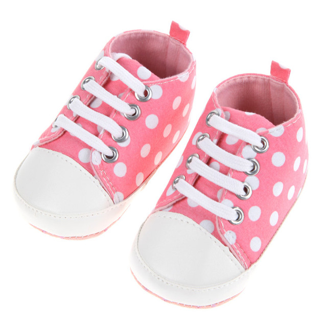 Cute Polka Dot Sneakers