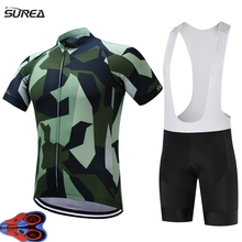 2017 ropa ciclismo Breathable Cycling Jersey Summer MTB Clothes Bicycle Clothing Ropa Maillot Ciclismo Racing Cycling Jersey set