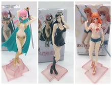Anime Sexy Cijfers Een Stuk Styling Meisjes Sectie Nami Nico Robin Rebecca PVC Action Figure Collectible Model Speelgoed Pop 16 CM(China)