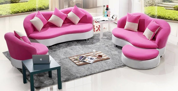 2015 New Limited Sofa Bed Wood Modern No Contracted Leather ...