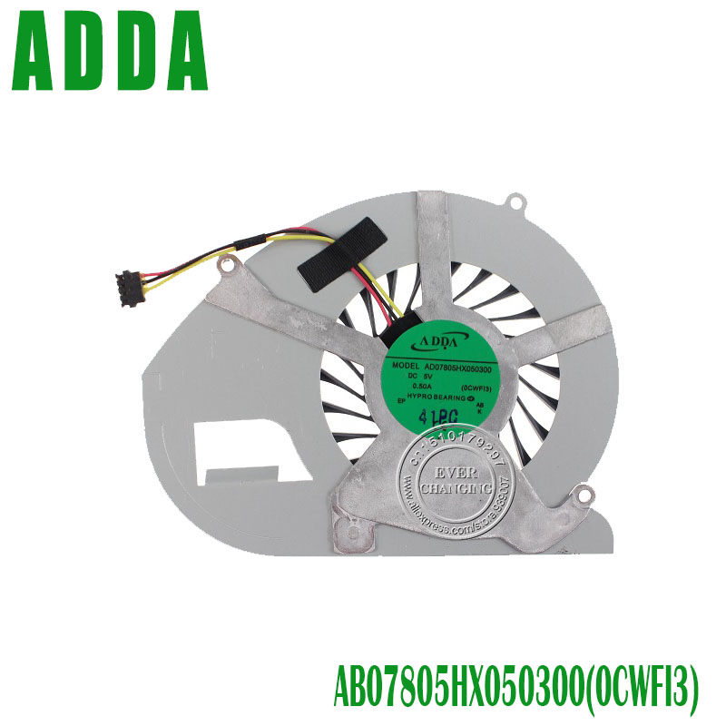 Laptop CPU Cooling Fan For FOR SONY VAIO Fit15 SVF15N F15N SVF15N29 Flip SVF15N17CLS SVF15N17CXB SVF15N17CXS AD07805HX050300