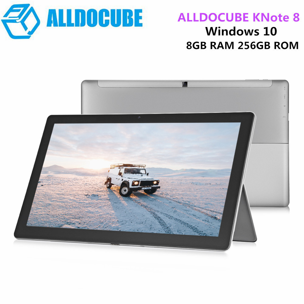 ALLDOCUBE KNote8 2 en 1 tablette PC 13.3 pouces 2 K écran Windows 10 Intel Core M3-7Y30 double coeur 1.0 GHz 8 GB RAM 256 GB SSD tablette